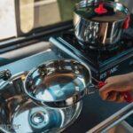 Aktiv 2 Camper Ausbau für Mercedes Vito V-Klasse zum nachrüsten Arbeitsplatte