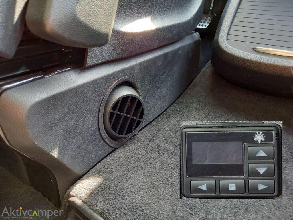 Standheizung einbau Vito V-Klasse VW-Bus