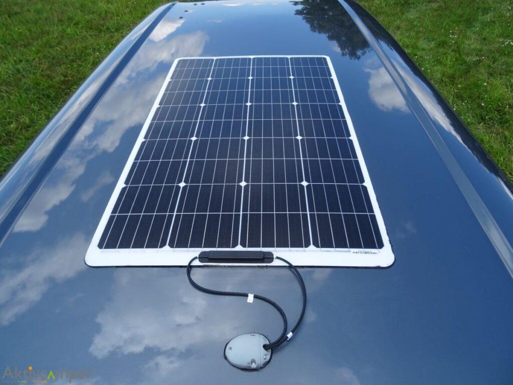 Solarpanel auf Vito V-Klasse Aufstelldach