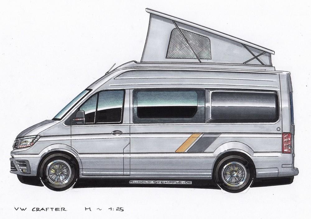 Aufstelldach nachrüsten VW Crafter