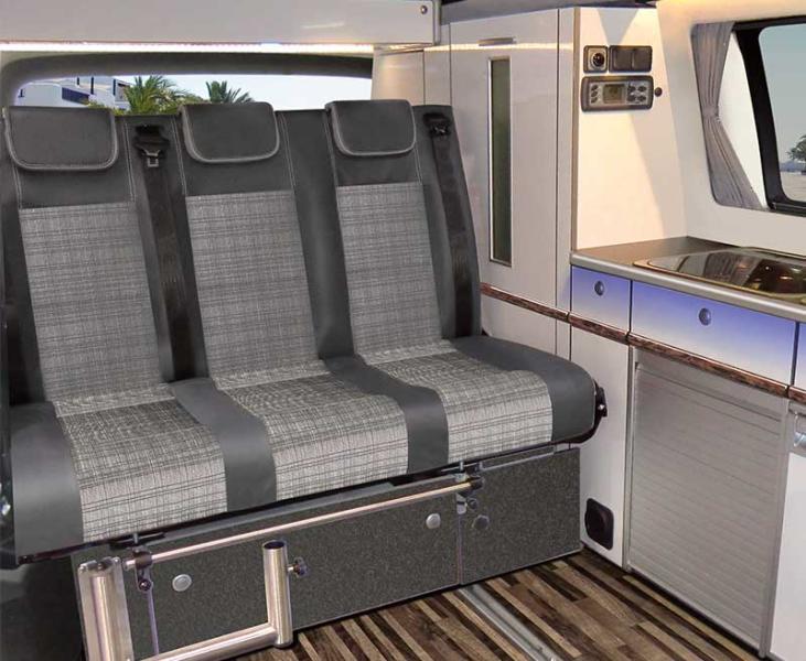 Reimo V3000 Gr 14 sitzbank Schlafbank für Vito V-Klasse