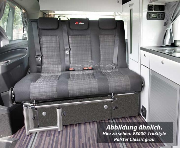 Reimo V3000 Gr 8 sitzbank Schlafbank für Vito V-Klasse