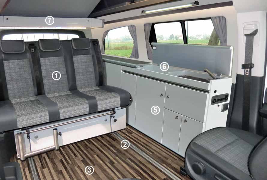 Vito V-Klasse Cityvan Camper Ausbau Reimo
