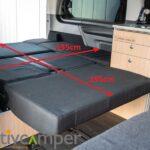 Vito V-Klasse Camper Ausbau Liegefläche