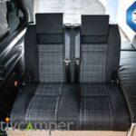 Schlafbank Sitzbank Mercedes Vito V-Klasse Schlafsitzbank